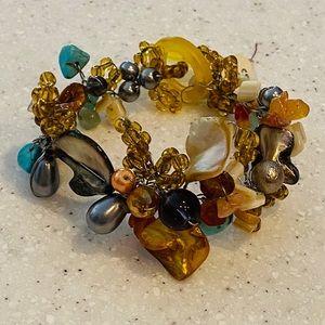 🆕🐚 Handmade Shell Toggle Bracelet
